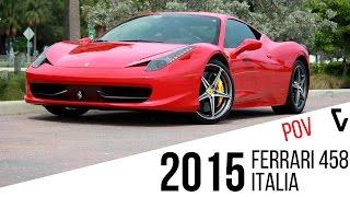2015 Ferrari 458 Italia POV Test Drive 0-60 | Veluxity