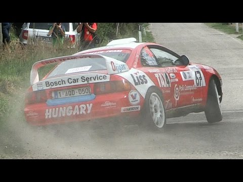 Toyota Celica GT-Four ST205 Gr. A Rallye - Anti-Lag, Flames & Accelerations