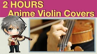 Video 【BGM】 My Anime/Game Violin Covers for Studying, Concentration and Stress Relief download MP3, 3GP, MP4, WEBM, AVI, FLV Agustus 2018
