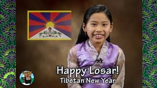 Happy Tibetan New Year! from Tibetan Kids Club