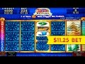 Mayan Chief Slot - $11.25 Max Bet - WHAT A REVEAL!! BIG WIN!!!