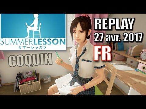 DécouVRez : Summer Lesson VOST (PSVR) | Live | Jeu coquin | VR Singe