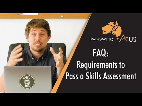 Requirements To Pass A Skills Assessment