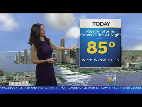 CBSMiami.com Weather @ Your Desk 11-15-18 6am