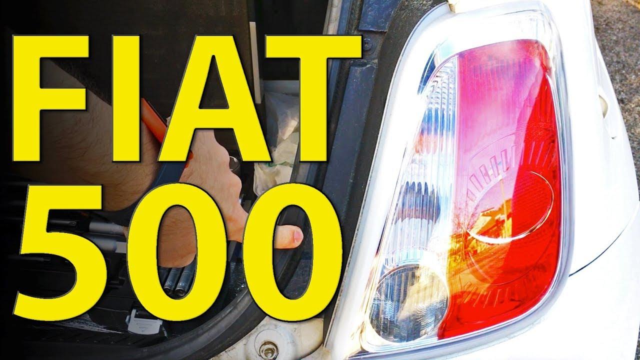 Fiat 500 Cambiare Lampadina Fanale Posteriore