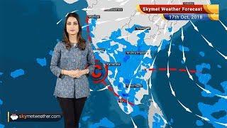 Weather Forecast for Oct 17: Rain in Kerala, TN, Karnataka, Pollution to rise in Delhi