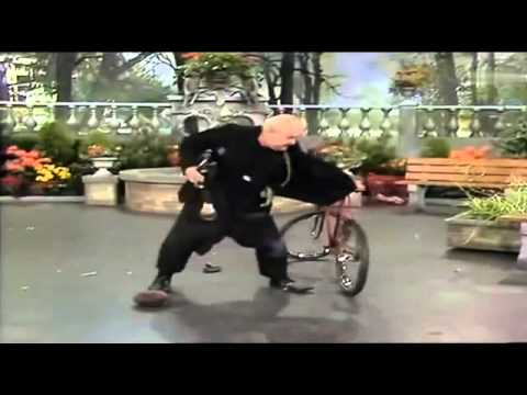Joe Jackson Jr., clown with bicycle/ Sketch mit Fahrrad / клоун с велосипедом,1977