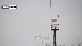 19 02 2015 North Debaltseve. Cossacks in Debaltseve.