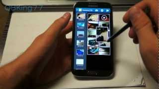 Samsung Galaxy Note 2 S Pen Review, Tips and Tricks