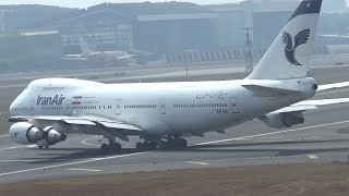 Top 10 Airlines - Iran Air Boeing 747 Very Short Takeoff