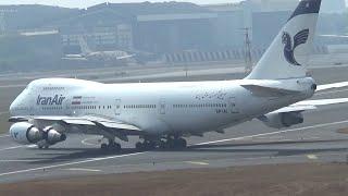 Iran Air Boeing 747 Very Short Takeoff