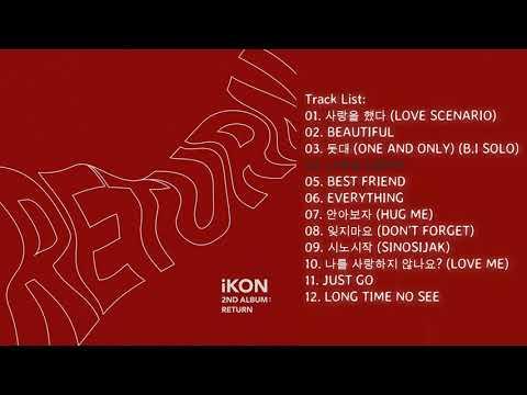 [Full Album] IKON – Return + DOWNLOAD ALBUM