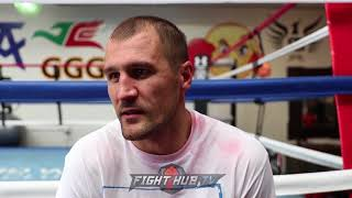 """SERGEY KOVALEV CONFESSES """"I DRANK A COUPLE BEERS A DAY! 2 SMALL BOTTLES OF VODKA! I CLEANED UP!"""
