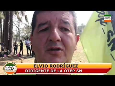 ELVIO RODRÍGUEZ DIRIGENTE DE LA OTEP SN