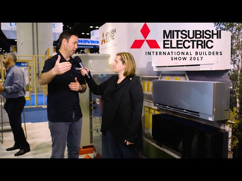 2017 Mitsubishi HVAC - What's new from the International Builder Show