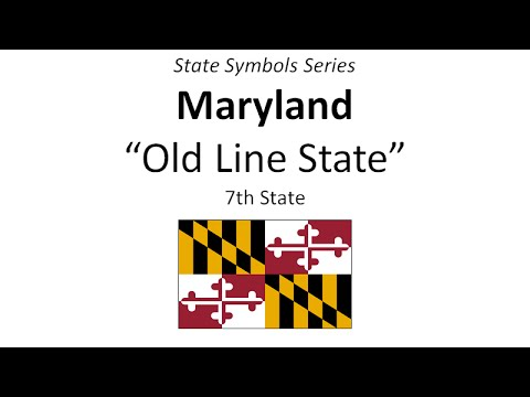 State Symbols Series - Maryland