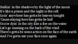 nowhere fast-lyrics