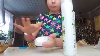 Как сделать лизуна,без тетрабората натрия и борной кислоты...Он получился