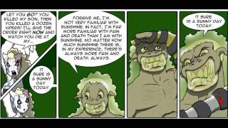 Slide show for goblins the online web comic