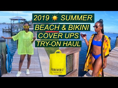 2019-swimsuit-cover-up-try-on-haul-|-affordable-summer-bikini-cover-ups---forever-21