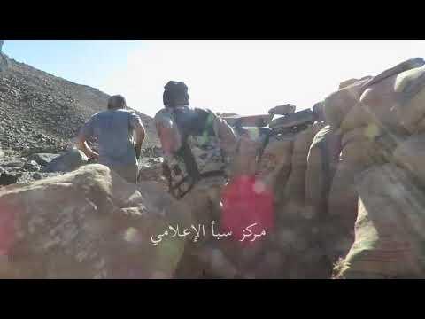 فيديو: فرار مسلحي الحوثي تحت ضربات الجيش الوطني بجبهة نهم شرق صنعاء