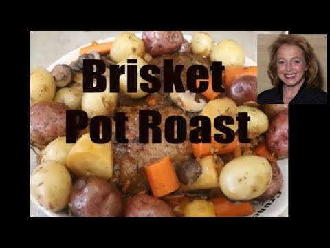 How to Make the Best Brisket Pot Roast in the Crockpot or Slow Cooker