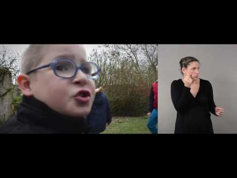Version Langue des Signes (LSF) - L'accompagnement à la scolarité - CAF Deux-Sèvres