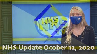 NHS Update October 12, 2020