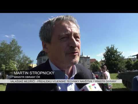 VALAŠSKÉ MEZIŘÍČÍ: Přehlídku vojenské techniky navštívil i ministr obrany