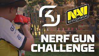 SK vs. Na`Vi (Pt. 2): Nerf Gun Challenge - HyperX Moments