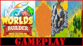 WORLDS Builder: Farm & Craft First Time In Depth Gameplay