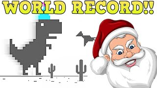 Playing Dino BUT every LIKE makes it Faster (World Record 1 Year)