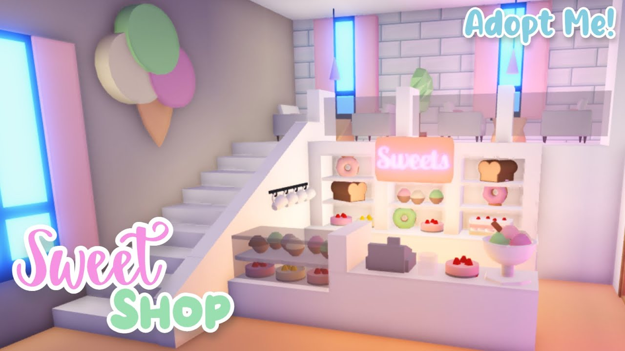 Sweet Shop Speed Build 🧁| PART 1 | Roblox Adopt Me