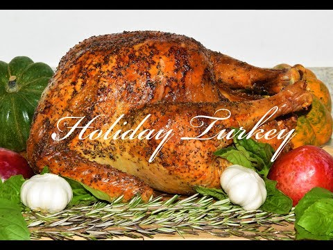 How To Make A Turkey For Thanksgiving - Dry Brine Turkey Recipe