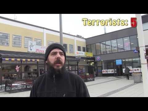 AMERICAN JOURNALIST GETS SHOT IN RINKEBY