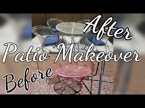 Before & After I Patio Furniture Makeover 2018