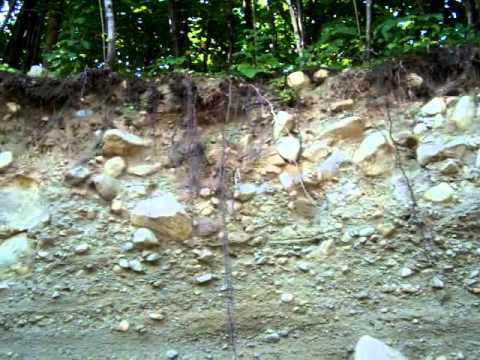 Gold Prospecting Maine And New Hampshire. The Search Continues.......Vid #1