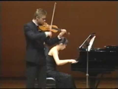 Violinist Tymur Melnyk Virtuoso Brahms Sonata 4/4 Yasuda