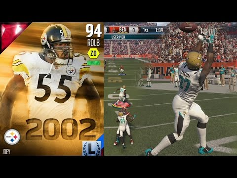 Madden 16 Ultimate Team - Joey Porter Debut!