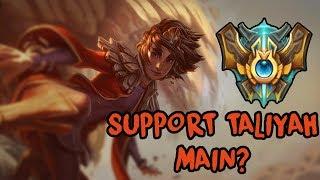 Taliyah Support Main w Top 10 serwera? Podglądamy! [League of Legends]