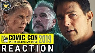 Tom Cruise, Top Gun: Maverick Trailer & Terminator: Dark Fate Reaction | SDCC 19 Paramount Panel