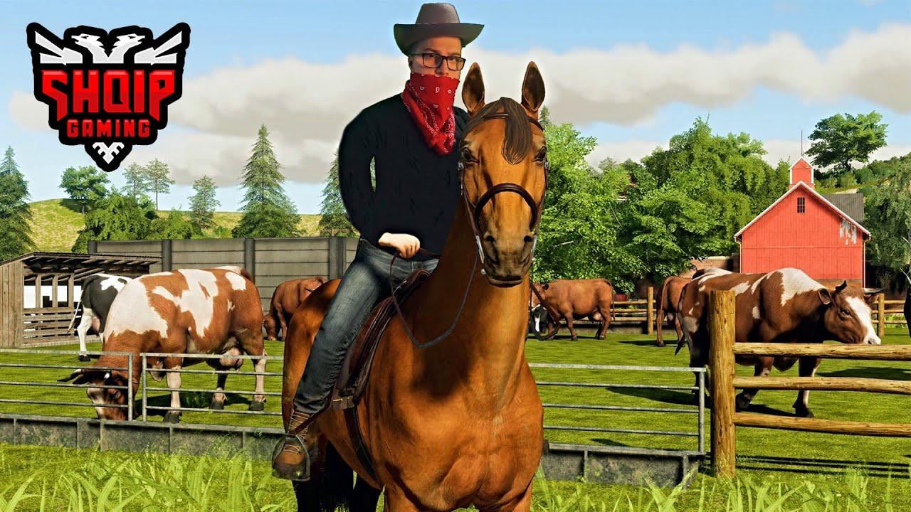 Download E Bleva Kalin e Parë !! - Ranch Simulator SHQIP   SHQIPGaming