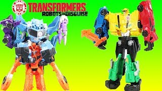 Transformers Ultra Bee Robots in Disguise Combiner Force Adventure W/ Optimus Prime, Blurr & More!!