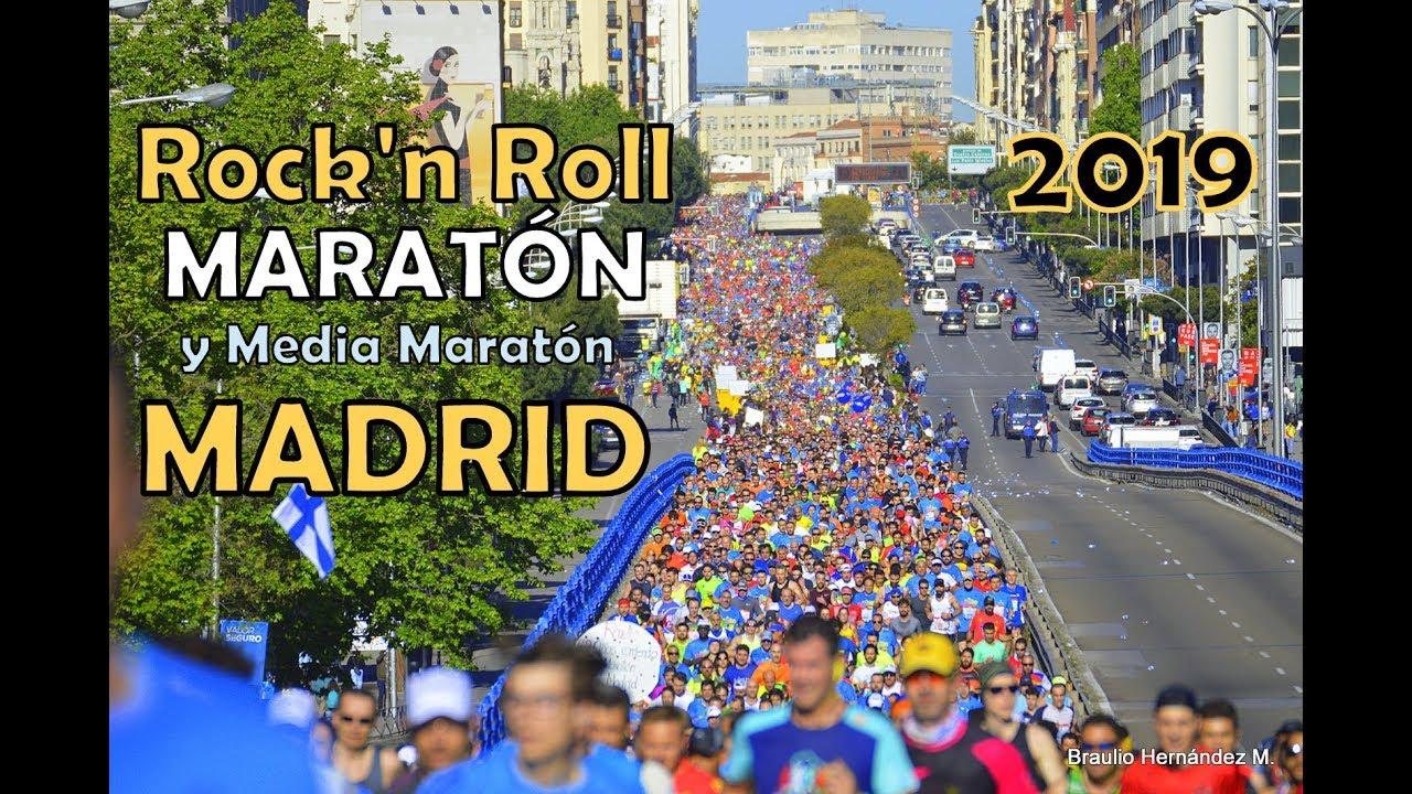 media maraton madrid rock and roll 2020 fotos