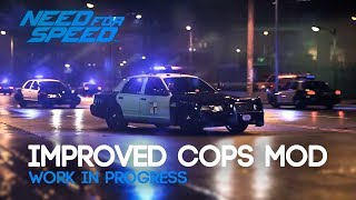 Need for Speed 2015 - Improved Police Mod Gameplay [WIP]