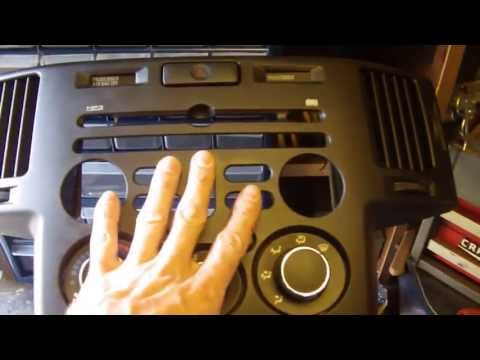 2006 Mitsubishi Endeavor After Market Stereo Install Part 1