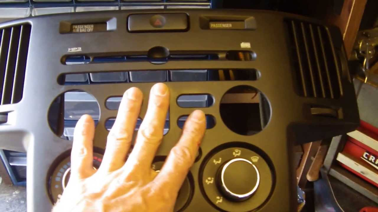 2006 mitsubishi endeavor after market stereo install part 1 youtube