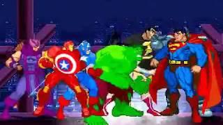 Injustice Avengers (Episode 10)-Death of Superman