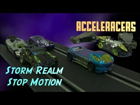 Acceleracers Stop Motion: Storm Realm