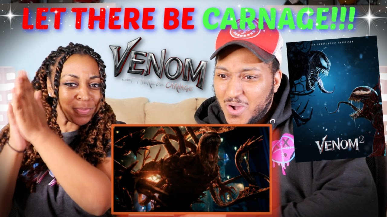"""""""Venom: Let There Be Carnage"""" Official Trailer (2021) REACTION!!!"""